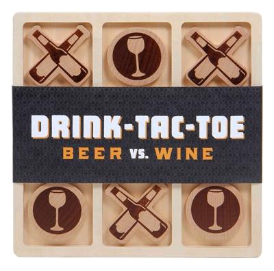 Drink-tac-toe