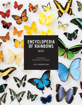 Encyclopedia of rainbows notes : 20 different notecards & envelopes