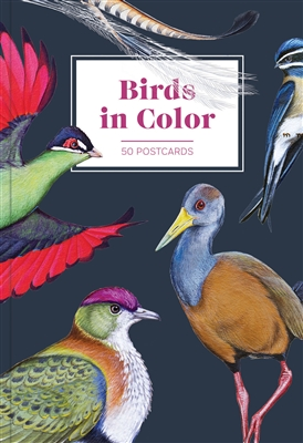 Birds in color: 50 postcards