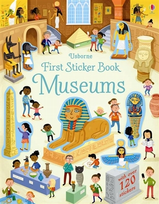 First sticker book museums