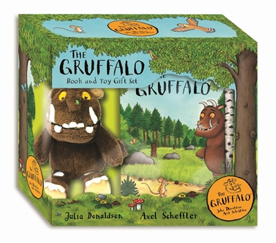 Gruffalo book and plush -