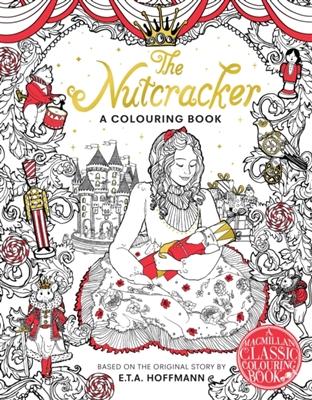 Nutcracker colouring book
