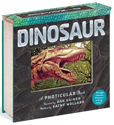 Dinosaur a photicular book