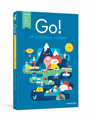 Go! blue aventure journal