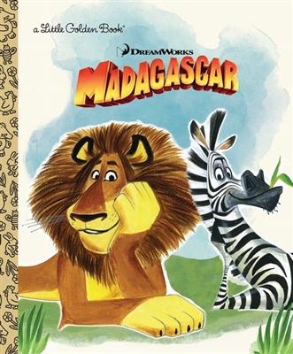 Golden book Madagascar