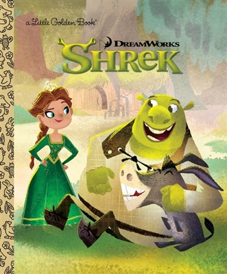 Golden book Shrek