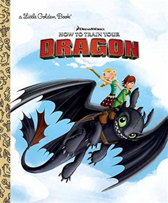 Golden book How to train your dragon