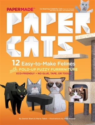 Paper cats: 12 easy-to-make cats