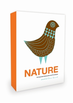 Nature note cards: 16 assorted notecards + envelopes