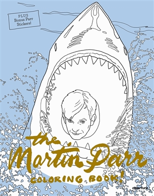 Martin parr coloring book!