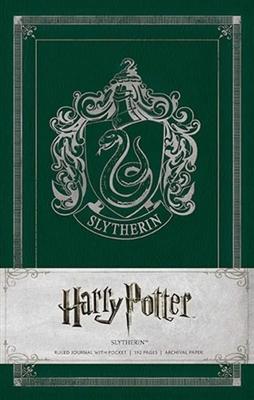 Harry potter: slytherin hardback ruled journal