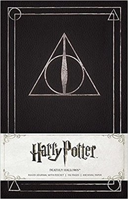 Harry potter: deathly hallows hardcover ruled journal