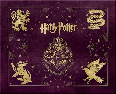 Harry potter hogwarts deluxe stationery kit : hogwarts deluxe stationery kit