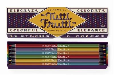 Tutti frutti pencils