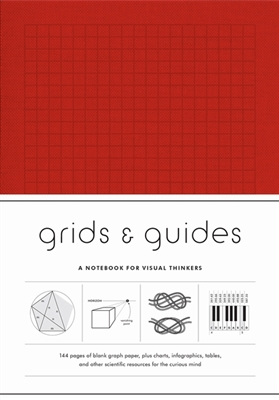 Grids & guides red : a notebook for visual thinkers