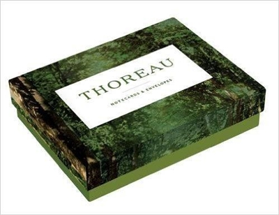 Thoreau notecards: 12 notecards + envelopes