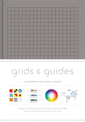 Grids & guides (grey) : a notebook for visual thinkers