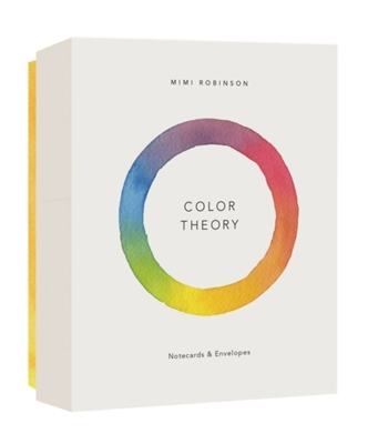 Color theory notecards: 12 notecards + envelopes
