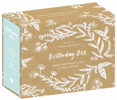 Birthday box: 20 birthday cards
