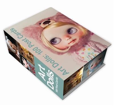 Art dolls: 100 postcards box