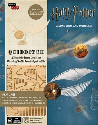 Incredibuilds: harry potter - quidditch