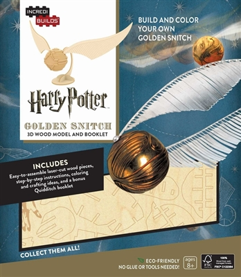 Incredibuilds: harry potter - golden snitch