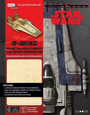 Incredibuilds: journey to star wars: the last jedi: a-wing