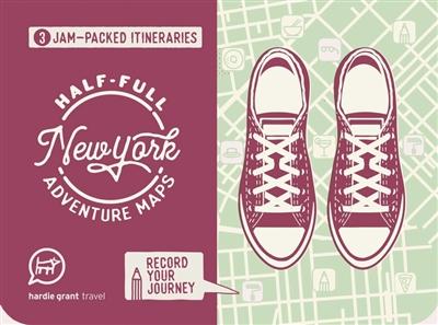 Half-full adventure map: new york
