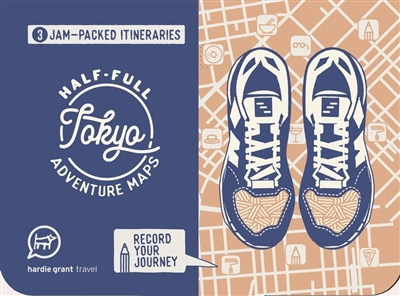 Half-full adventure map: tokyo