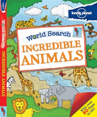 Lonely planet: world search: awesome animals