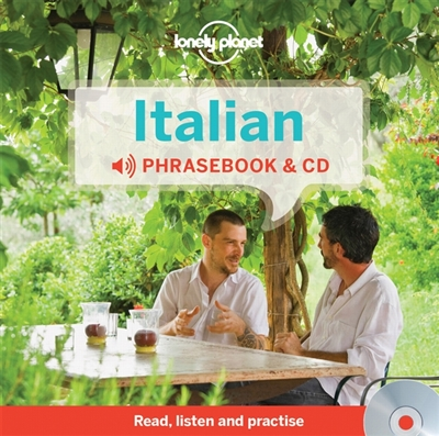 Lonely planet phrasebook : italian & audio cd (3rd ed)