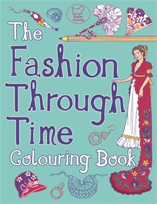 Fashion through time colouring book