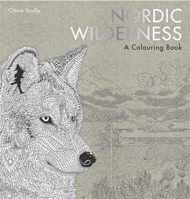 Nordic wilderness : a colouring book