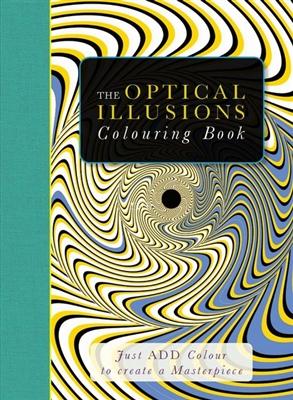 Optical illusions colouring book