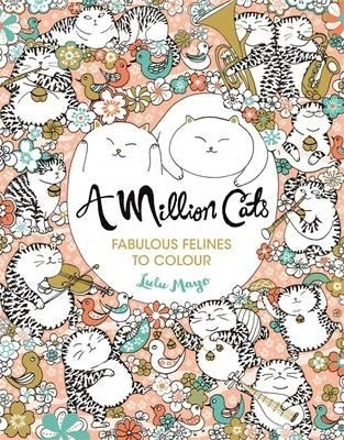 Million cats: fabulous felines to colour