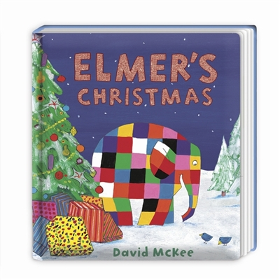 Elmer's christmas (board book)