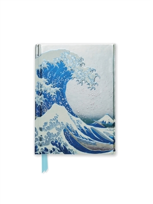 Hokusai's the great wave pocket book
