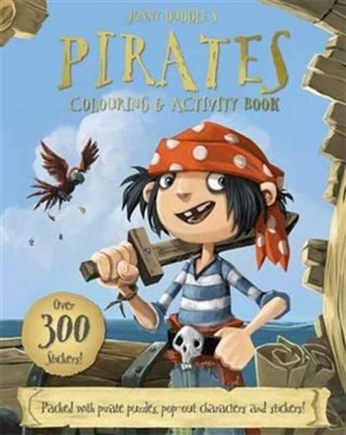 Pirates colouring & activity book