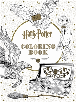 Harry potter the offical colouring book