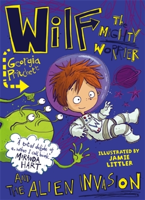 Wilf the mighty worrier and the alien