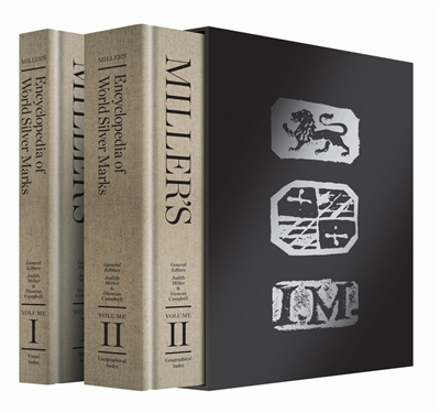 Mller's encyclopedia of world silver marks (two volumes)