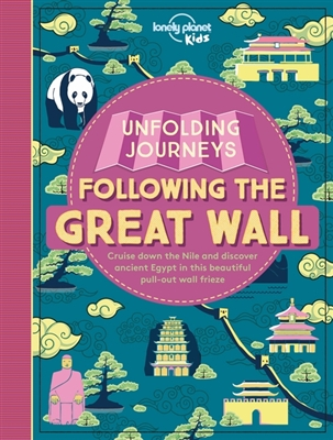 Lonely planet: unfolding journeys- great wall (1st ed)