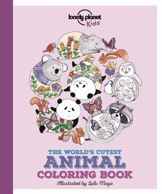 Lonely planet: the world's cutest animal colouring book (1st ed)