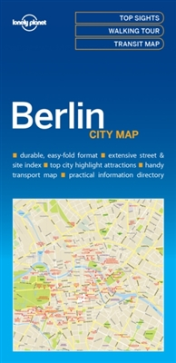 Lonely planet: city map berlin (1st ed)