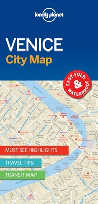 Lonely planet: city map venice (1st ed)