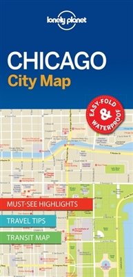 Lonely planet: city map chicago (1st ed)