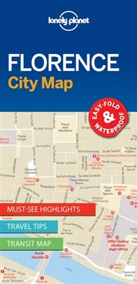 Lonely planet: city map florence (1st ed)