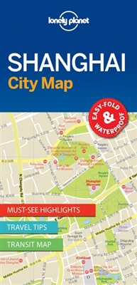Lonely planet: city map shanghai (1st ed)