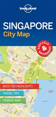 Lonely planet: city map singapore (1st ed)