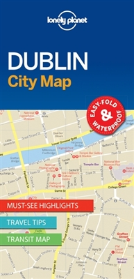 Lonely planet: city map dublin (1st ed)